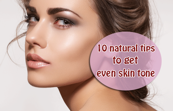 How to Get Even Skin Tone on Body Naturally?