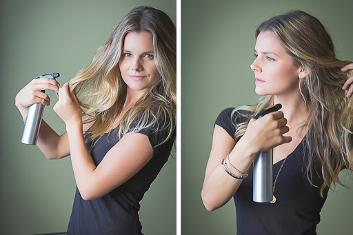 Is salt water spray good for your hair?