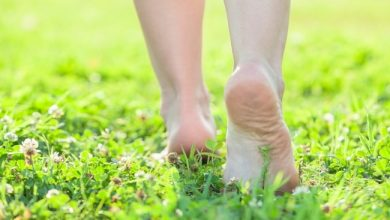 What causes dark spots under your feet?