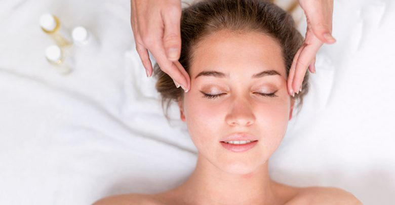 How do you massage your face for a face lift?