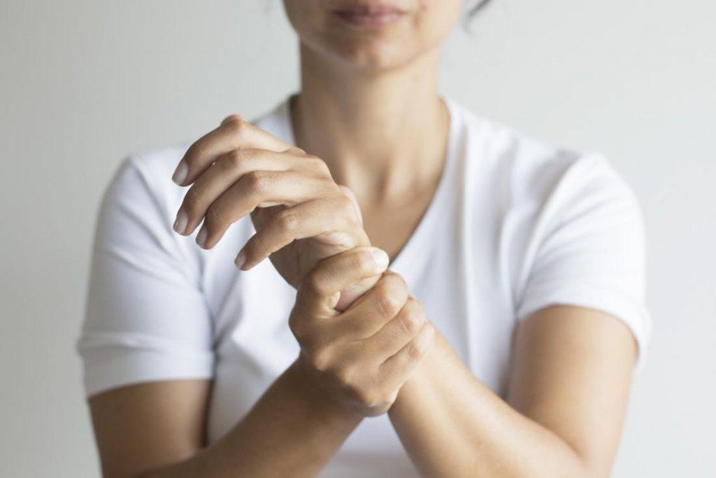 Needle Pricking Sensation on Skin Surface