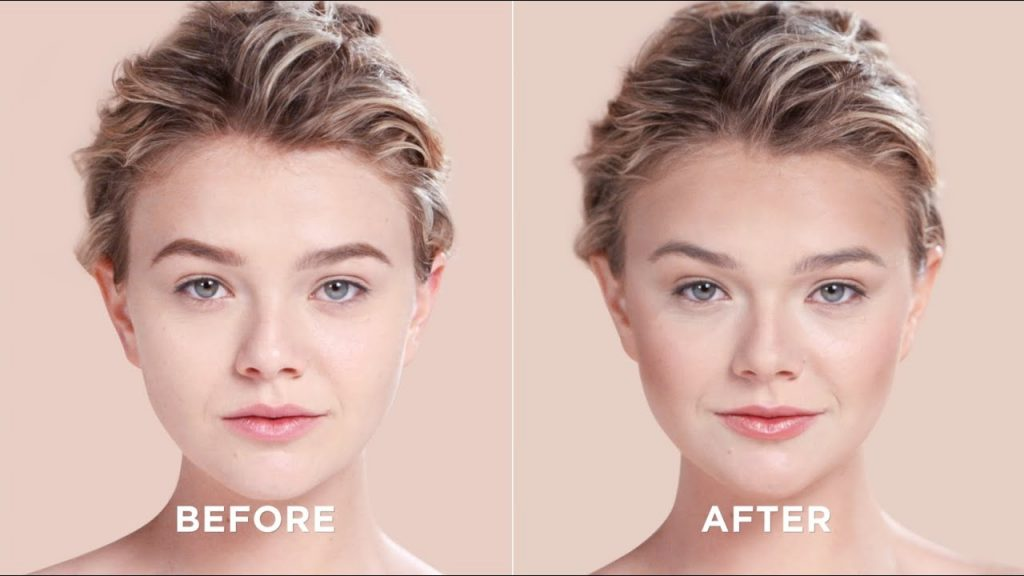 How to change your face shape with makeup?