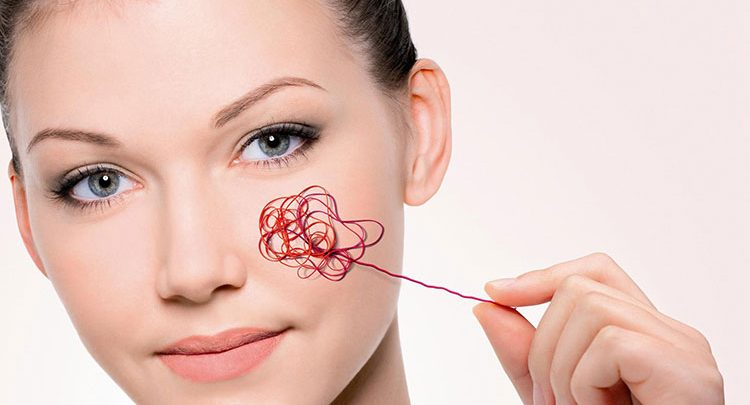 How to cover broken capillaries on face?